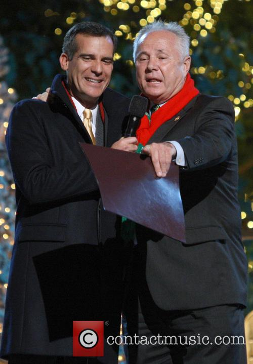 Los Angeles Mayor Eric Garcetti and Councilmember Tom Labonge 3