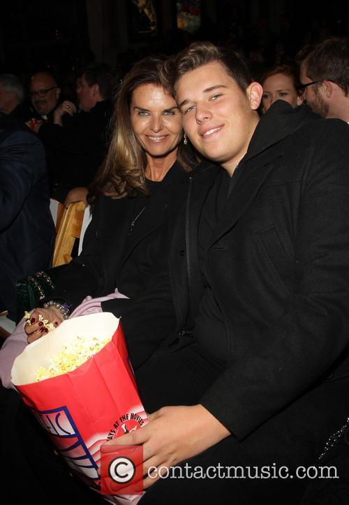 Maria Shriver and Christopher Schwarzenegger 2
