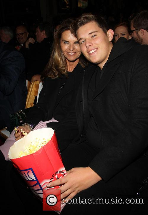 Maria Shriver and Christopher Schwarzenegger 4