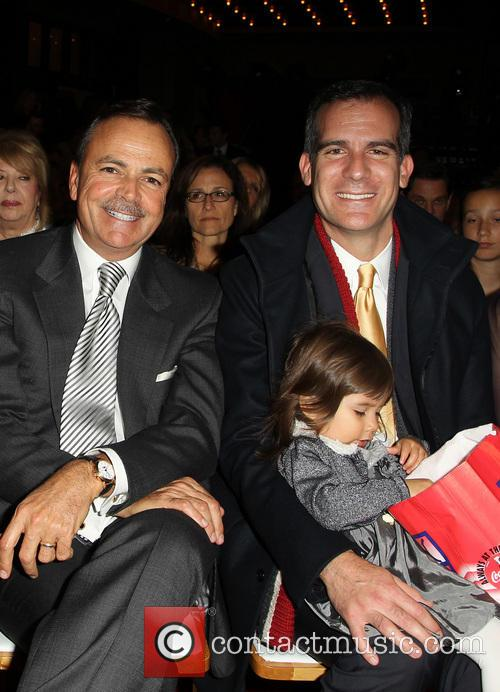 Rick Caruso and Los Angeles Mayor Eric Garcetti 2