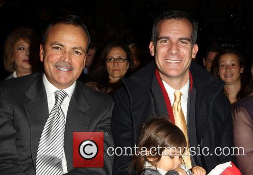 Rick Caruso and Los Angeles Mayor Eric Garcetti 3