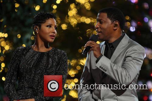 """Toni Braxton, Kenny """"Babyface"""" Edmonds, The Grove"""