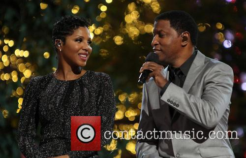 "Toni Braxton, Kenny ""Babyface"" Edmonds, The Grove"