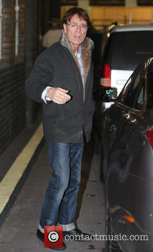 sir cliff richard sir cliff richard outside 3958915