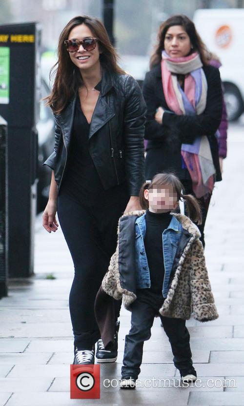 Myleene Klass, Myleene Klaas and Hero Quinn 1