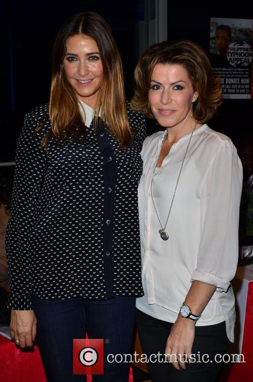 Lisa Snowdon and Natasha Kaplinsky 5