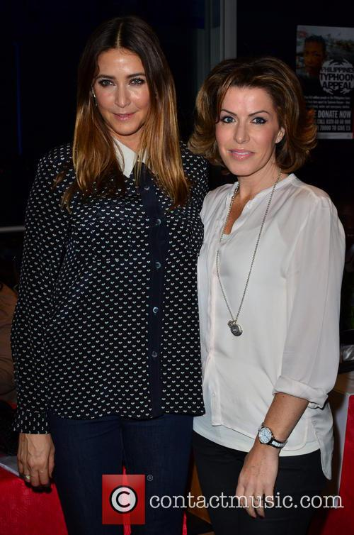 Lisa Snowdon and Natasha Kaplinsky 6