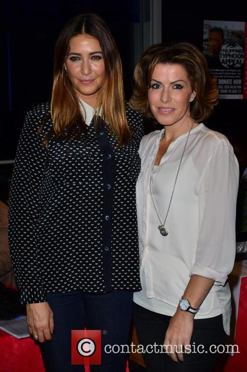 Lisa Snowdon and Natasha Kaplinsky 7