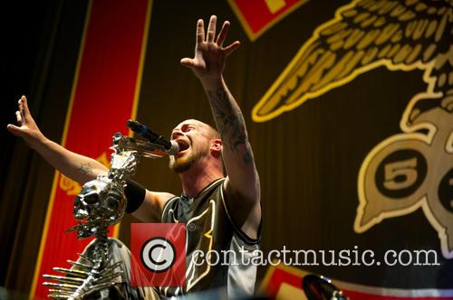 Five Finger Death Punch and Ivan Moody 9