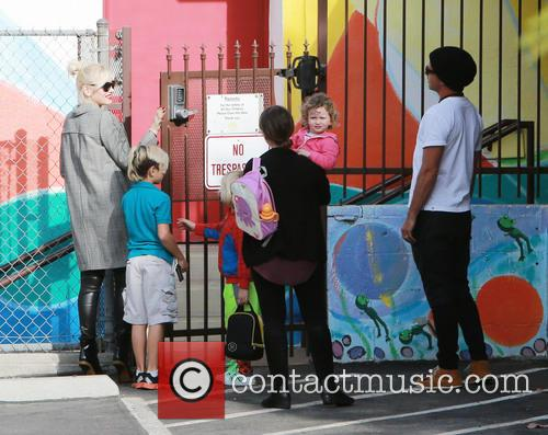 Gwen Stefani, Kingston Rossdale, Zuma Rossdale and Gavin Rossdale 6