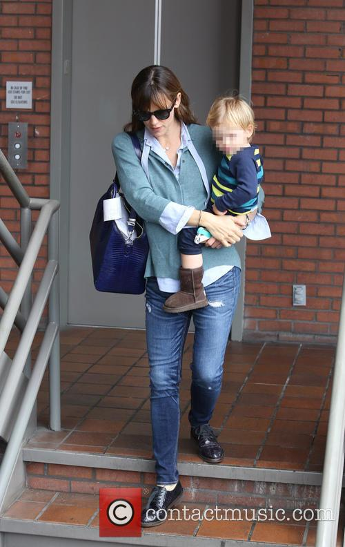 Jennifer Garner and son Samuel out and about