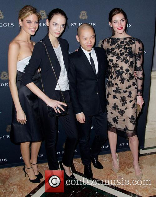 Jason Wu, Martha Hunt, Suzanne B and Hilary Rhoda 2