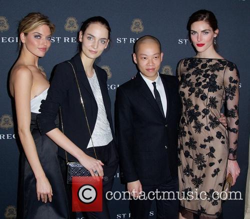 Jason Wu, Martha Hunt, Suzanne B and Hilary Rhoda 3