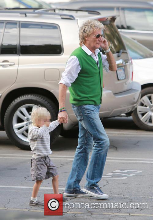 Rod Stewart and Aiden Stewart 2