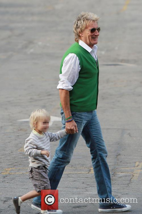 Rod Stewart and Aiden Stewart 4