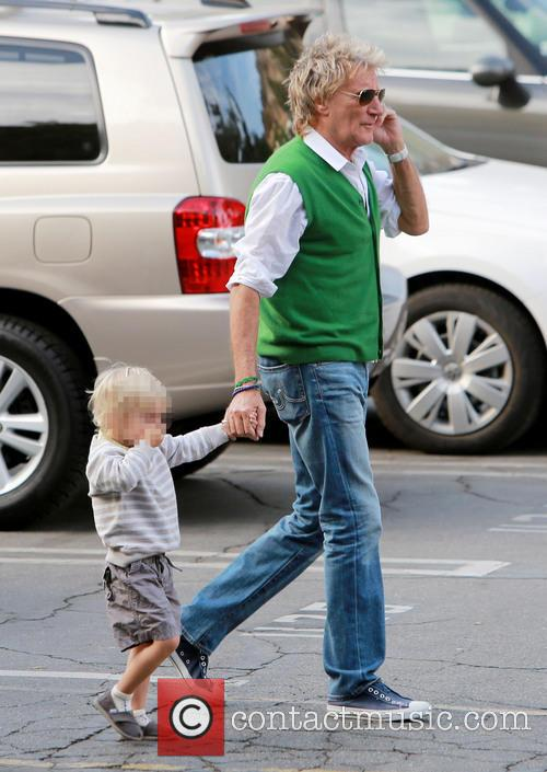 Rod Stewart and Aiden Stewart 9