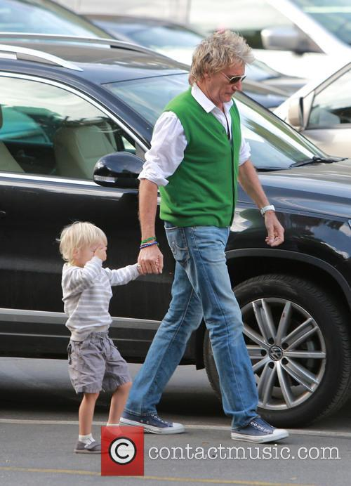 Rod Stewart and Aiden Stewart 10