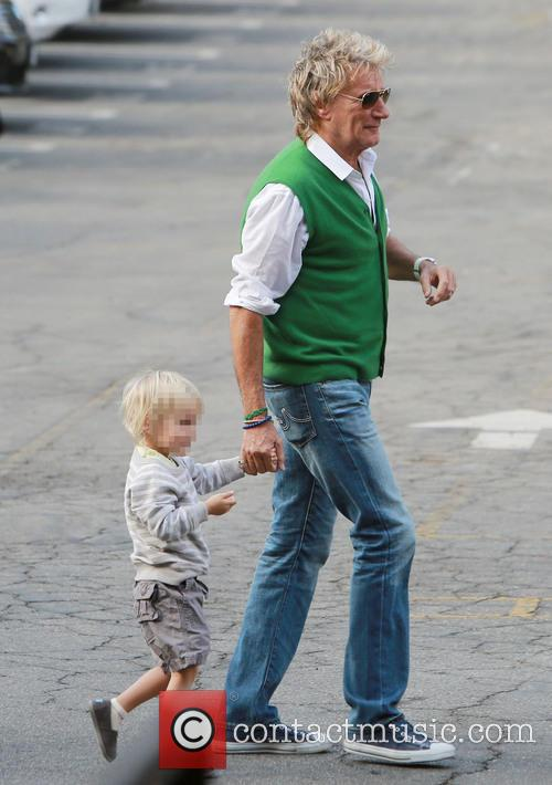Rod Stewart and Aiden Stewart 11