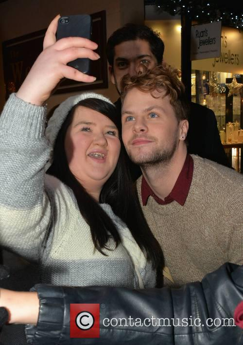 Jay Mcguiness and The Wanted 2