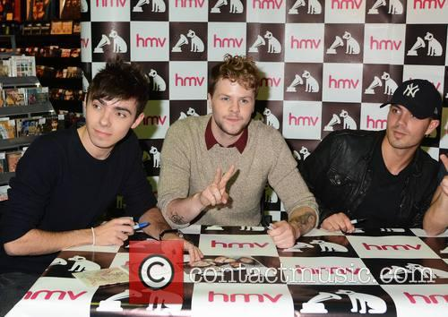 The Wanted - Nathan Sykes, Jay Mcguiness and Max George 2