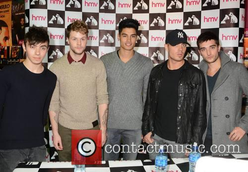 The Wanted - Nathan Sykes, Jay Mcguiness, Siva Kaneswaran, Max George and Tom Parker 1