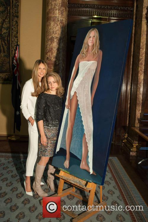 Portrait of Elle Macpherson by Nicola Green unveiled...