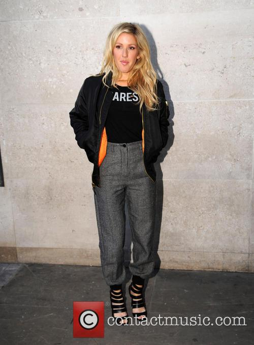 Ellie Goulding arrives at the Radio 1 live...