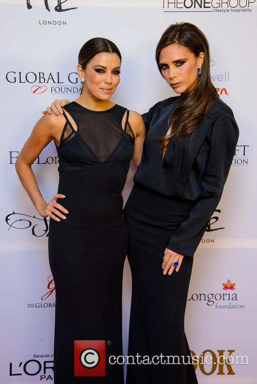 eva longoria victoria beckham the 4th annual global 3961334