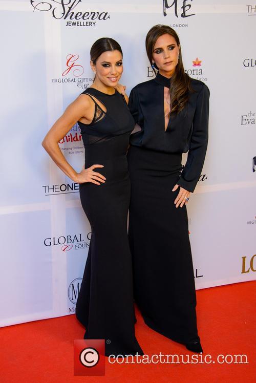 Eva Longoria and Victoria Beckham 5
