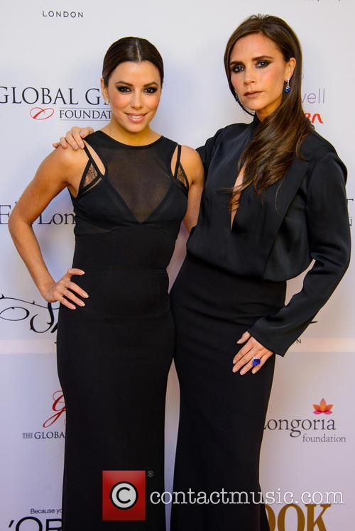 Eva Longoria and Victoria Beckham 6