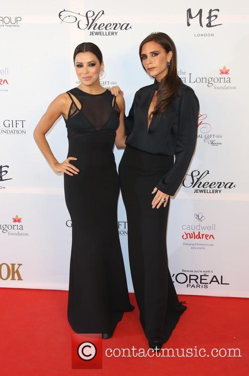 Eva Longoria and Victoria Beckham 7