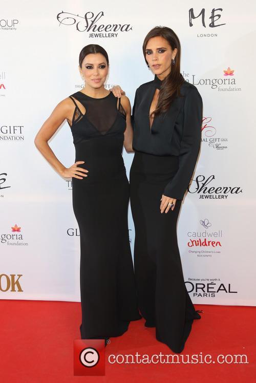 Eva Longoria and Victoria Beckham 1