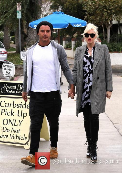 Gwen Stefani and Gavin Rossdale breakfast date
