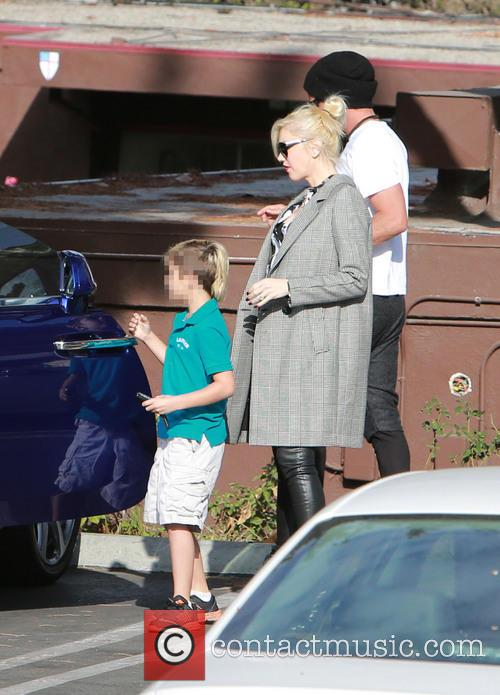 Kingston Rossdale, Gwen Stefani and Gavin Rossdale 11