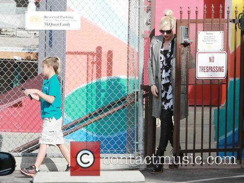 Kingston Rossdale and Gwen Stefani 7