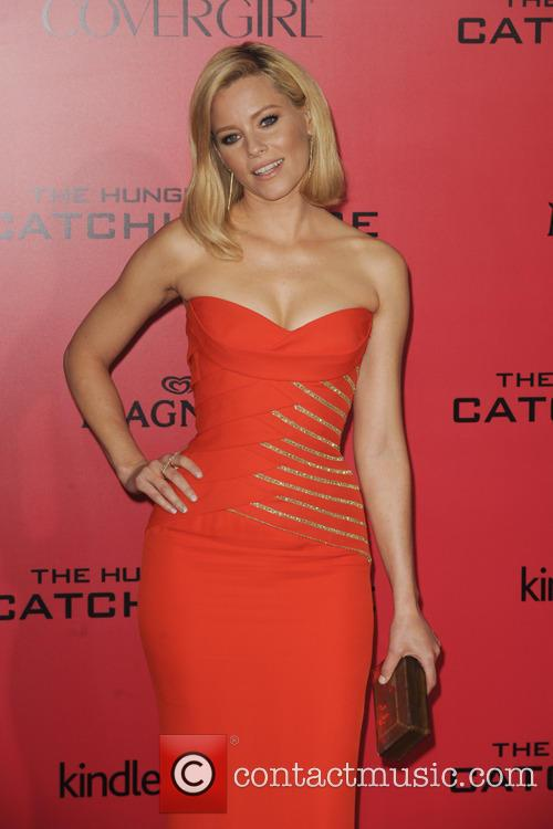 Elizabeth Banks Hunger Games Catching Fire Premiere