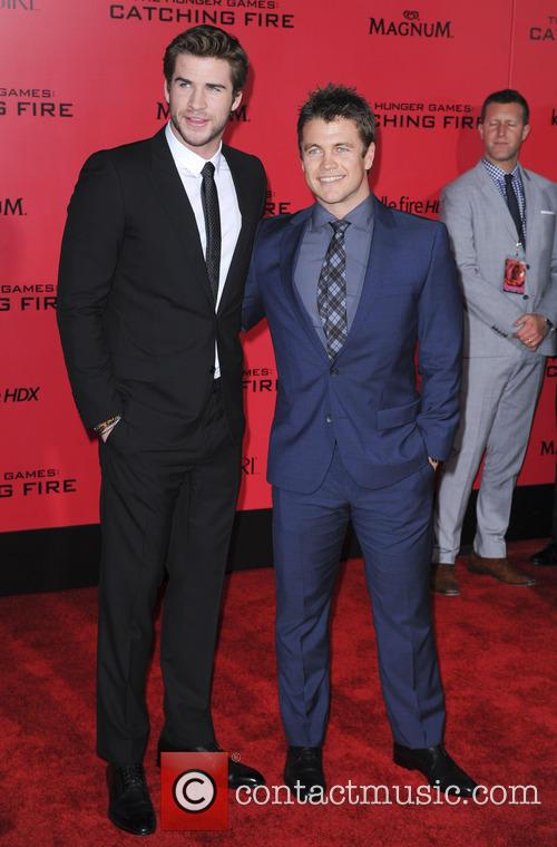 Luke Hemsworth and Liam Hemsworth 2