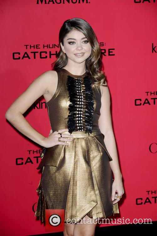 Sarah Hyland Hunger Games Catching Fire