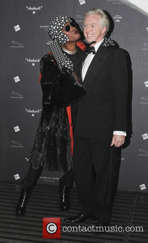 Grace Jones and Philip Treacy 2