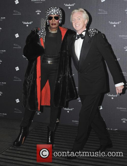 Grace Jones and Philip Treacy 4
