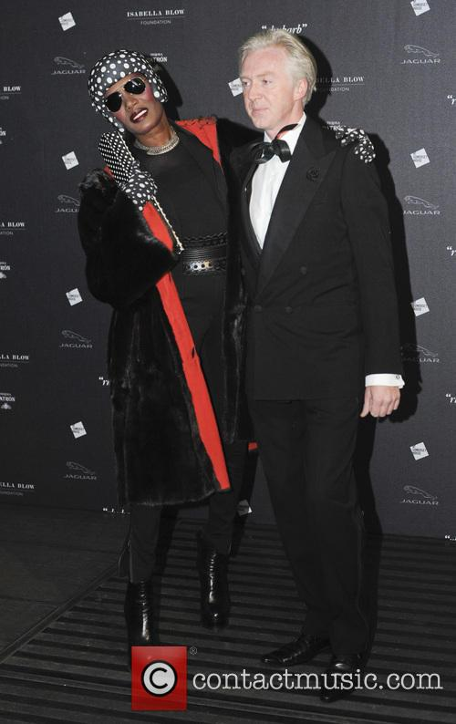 Grace Jones and Philip Treacy 10