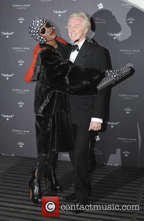 Grace Jones and Philip Treacy 6