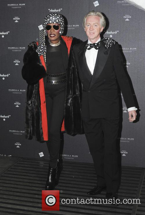 Grace Jones and Philip Treacy 7