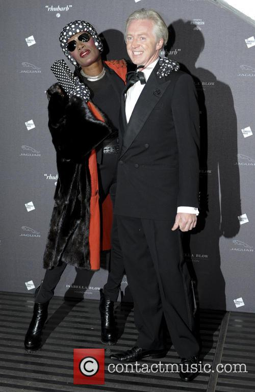 Grace Jones and Philip Treacy 9