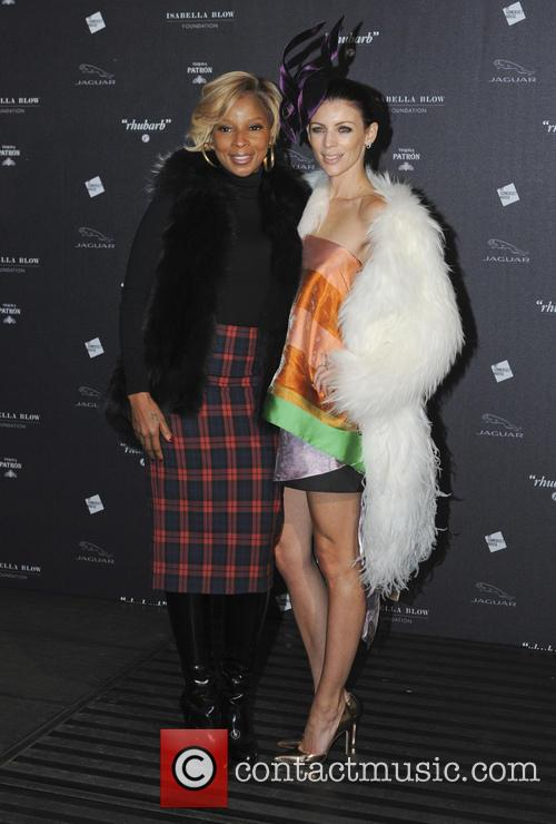 Mary J. Blige and Liberty Ross 7