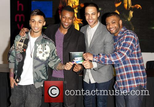 Aston Merrygold, Oritse Williams, Marvin Humes, Jb Gill and Jls 1
