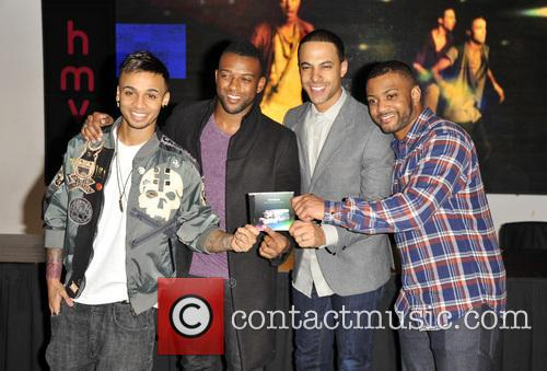 Aston Merrygold, Oritse Williams, Marvin Humes, JB Gill and JLS 3