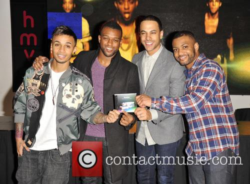 Aston Merrygold, Oritse Williams, Marvin Humes, JB Gill and JLS 4