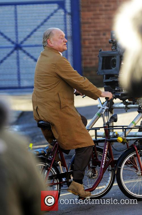 'Open All Hours' filming