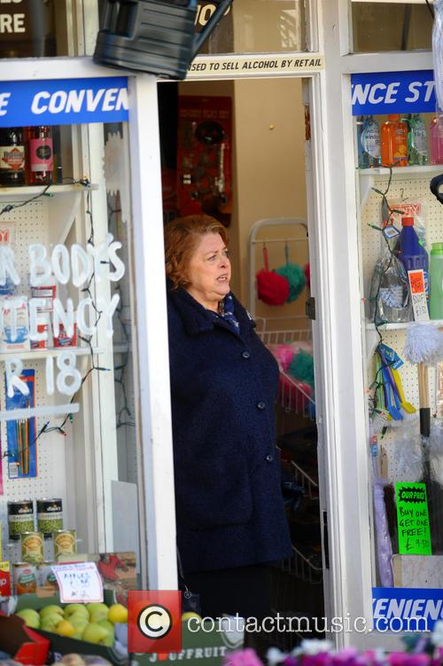lynda baron open all hours filming 3961147